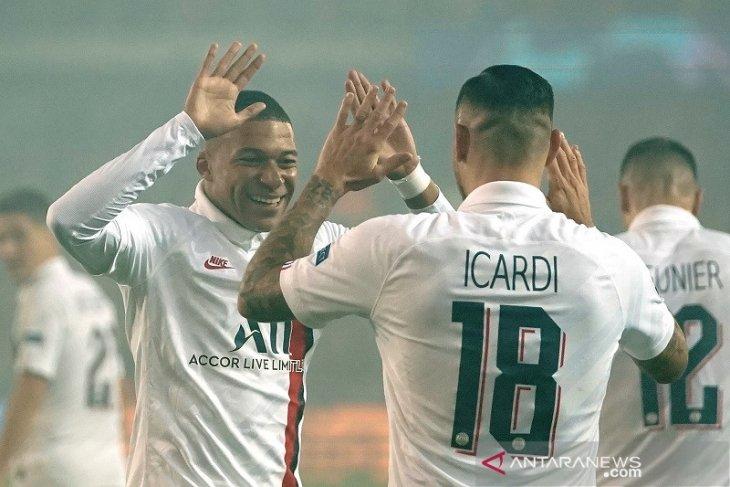 Liga Champions, Mbappe tiga gol Icardi dua, PSG cukur Brugge 5-0