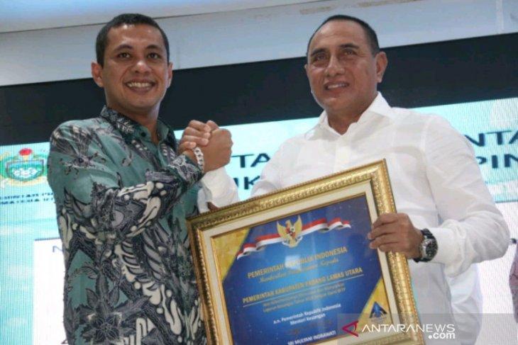 Pemkab Padang Lawas Utara raih opini WTP