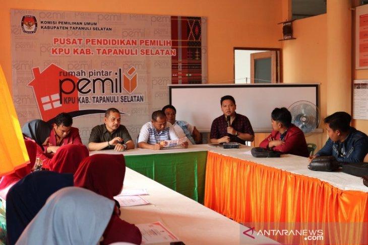 KPU Tapanuli Selatan apresiasi IMM kunjungi RPP