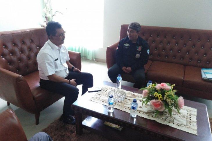 Wakil Wali Kota Tebing Tinggi terima  kunjungan tim Jelajah Nusantara