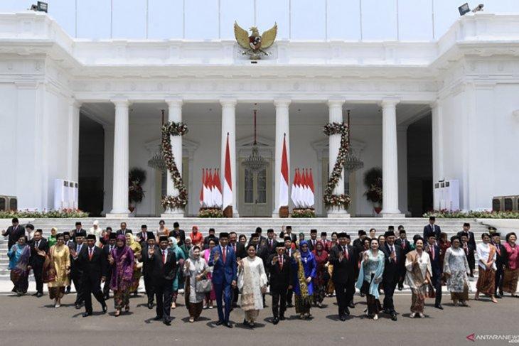 Komposisi menteri Kabinet Indonesia Maju dinilai sebagai kabinet ahli