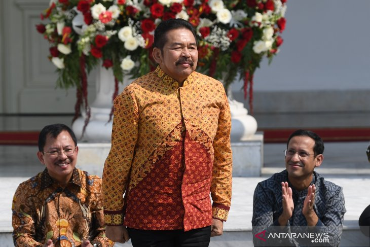 Profil Jaksa Agung -  ST Burhanuddin, berangkat dari Jaksa Karir