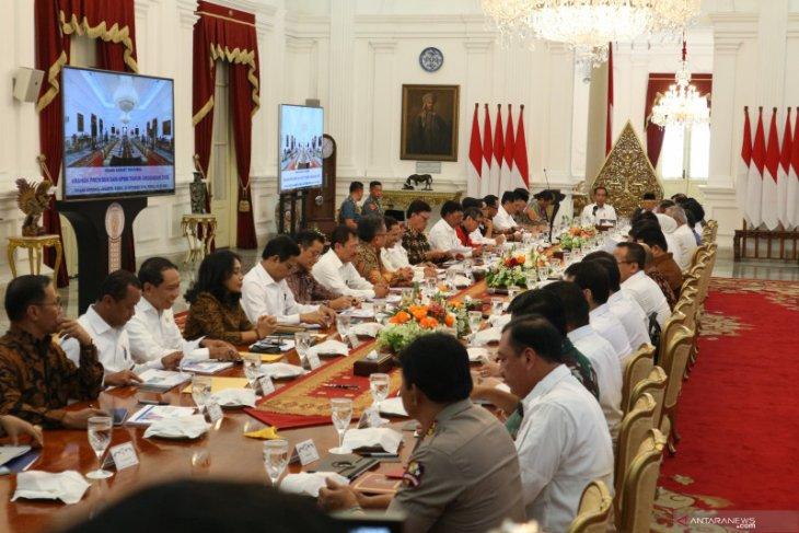 Jokowi tekankan pemberian kemudahan bagi industri tingkatkan ekspor