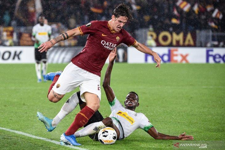 AS Roma ditahan imbang 1-1 oleh tamunya Borussia Moenchengladbach