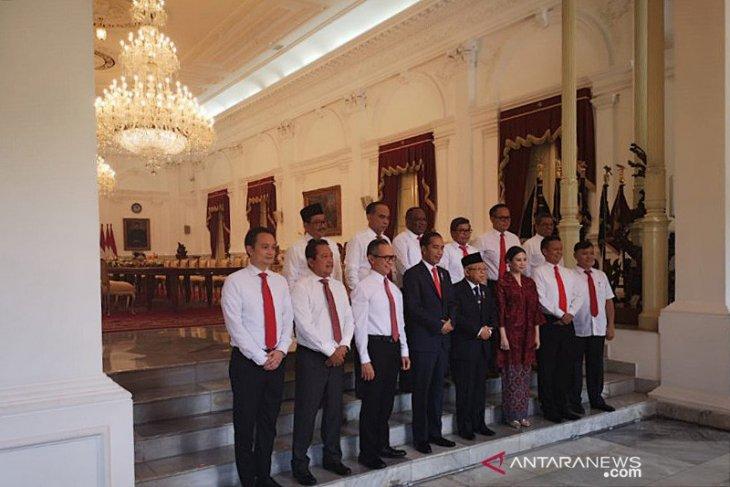Presiden Jokowi lantik 12 Wamen Kabinet Indonesia Maju