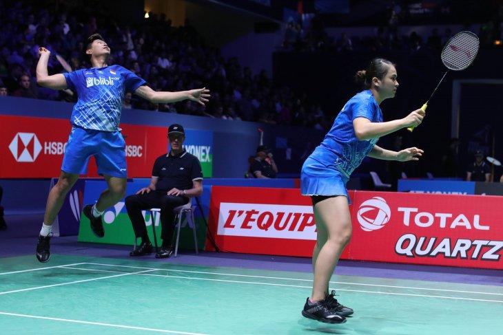 Bulutangkis Prancis Open, masuk semifinal French Open 2019, Praveen/Melati tetap jaga fokus