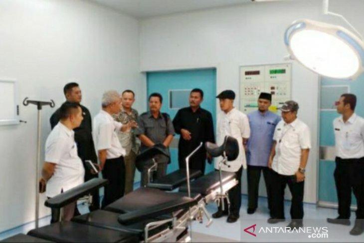 Komisi IV DPRD Babel kunjungi RSUP Soekarno