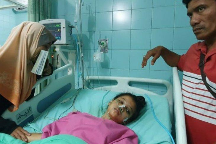 Kapolda Sumut bantu pengobatan pasien patah tulang akibat lakalantas