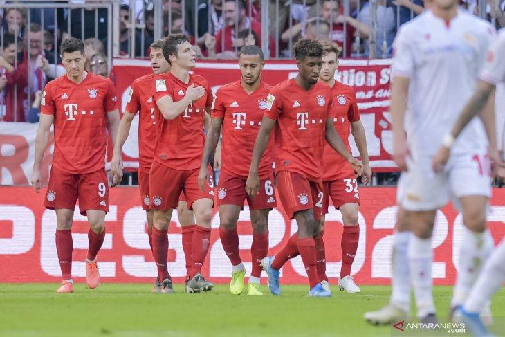 Hasil dan klasemen Liga Jerman: Bayern dipucuk klasemen