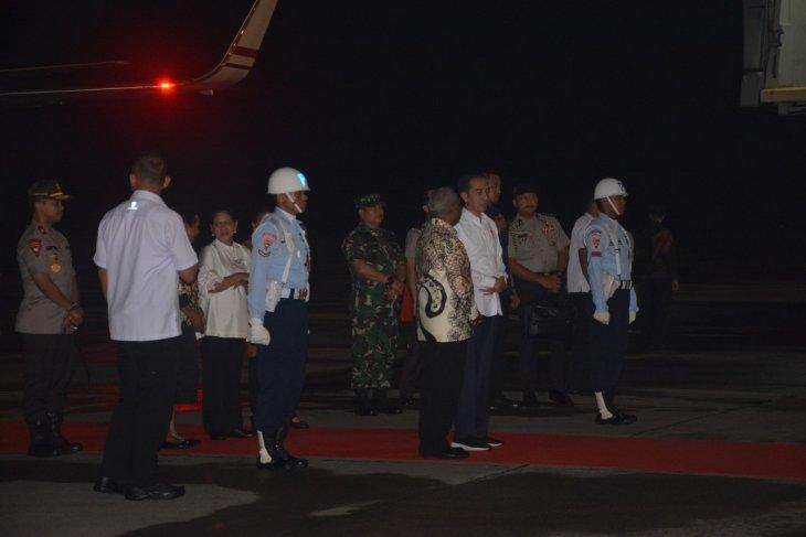 Jokowi to stay overnight in Kaimana, West Papua
