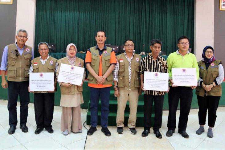 BNPB serahkan hasil penggalangan dana untuk gempa Maluku