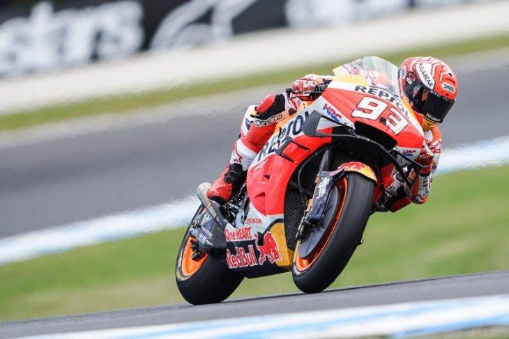 Marquez menang dramatis atas Vinales di Australia