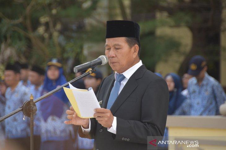 Bupati Bangka Tengah, Ibnu Saleh mengharapkan pemuda bekarakter tangguh