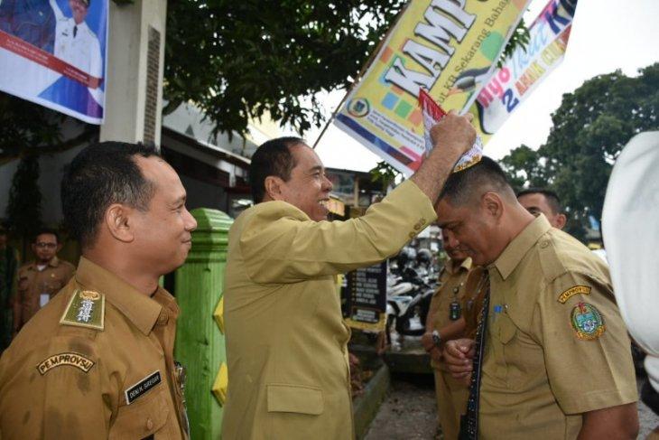 Tim penilai tinjau Kecamatan Padang Hulu Tebing Tinggi