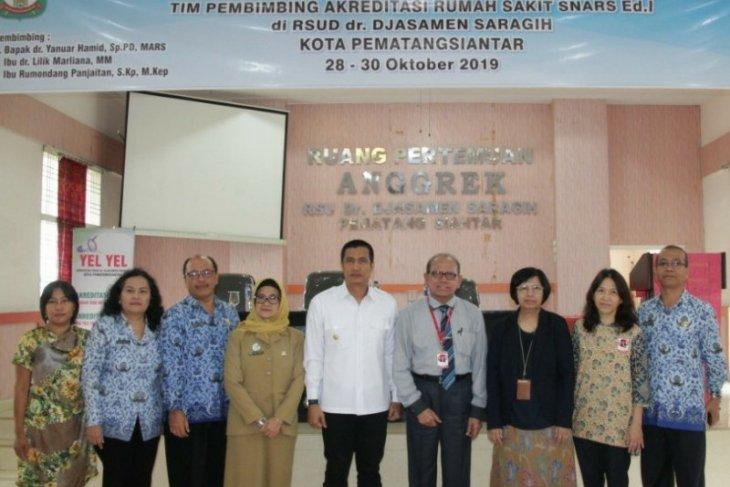 RSUD Djasamen Saragih Pematangsiantar dibimbing akreditasi SNAR 1