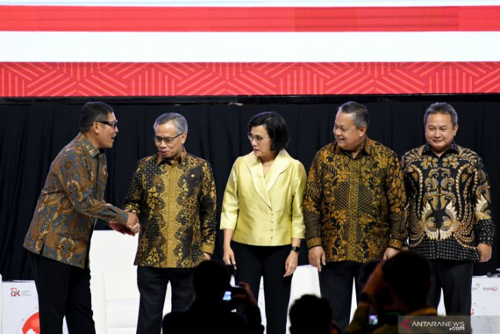 Sri Mulyani minta swasta tetap optimistis di tengah krisis global
