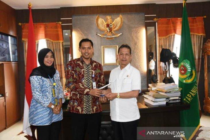 Manajemen Garuda Indonesia bertemu Bupati Tapanuli Selatan