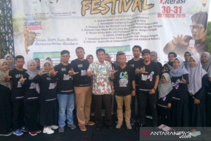 Bupati tutup kegiatan Festival Bangka Tengah Berliterasi