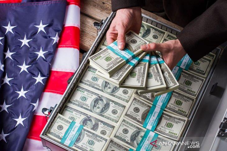 Kurs dolar AS melemah karena selera terhadap aset berisiko berkurang