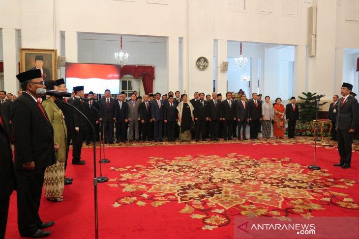 Presiden Jokowi lantik anggota Komisi Kejaksaan