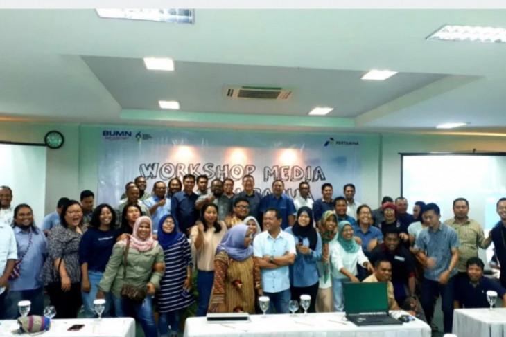 PT. Pertamina MOR VIII workshop sinergi media