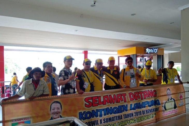 Prov Riau pimpin perolehan medali sementara Porwil