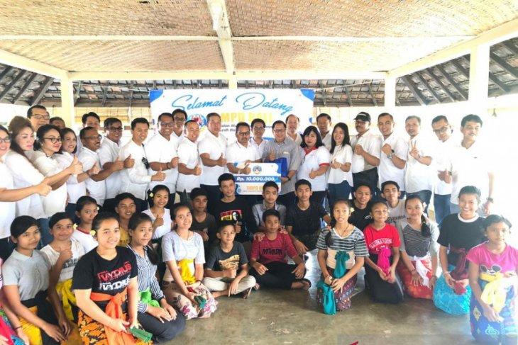 BI gerakkan BMPD Bali berbagi kasih di panti asuhan