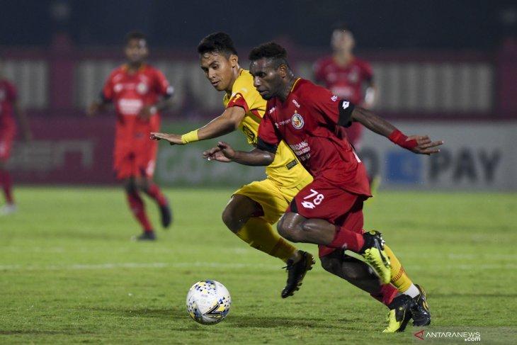 Bhayangkara FC gagal tinggalkan peringkat kesepuluh