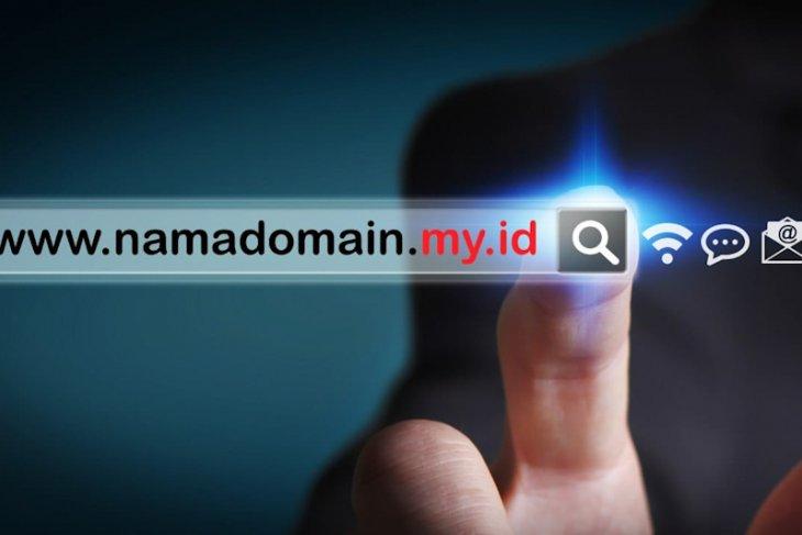 Pengguna domain my.id meningkat tajam