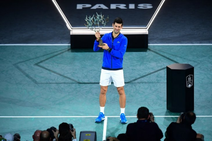 Novak Djokovic juara Paris Masters kelima kalinya