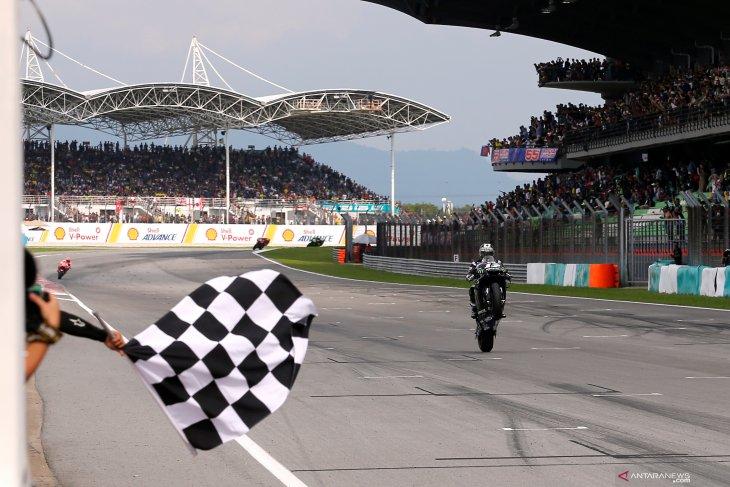 Vinales melesat juarai MotoGP Malaysia