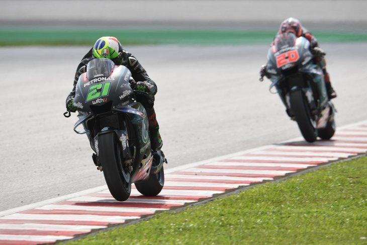 Duo Petronas Yamaha SRT kurang memuaskan di Sepang, ada apa?