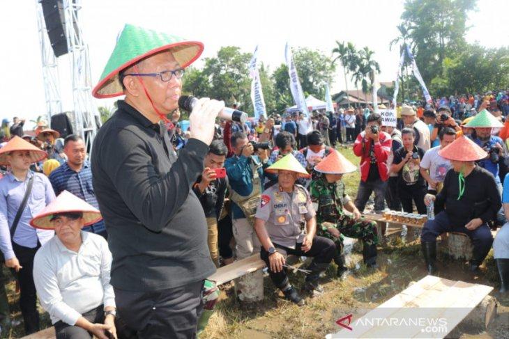 Gubernur berharap tanam padi milenial Kubu Raya tingkatkan hasil panen