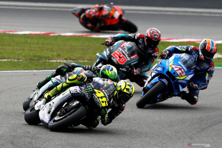 Rossi nikmati pertarungan  untuk podium di Sepang