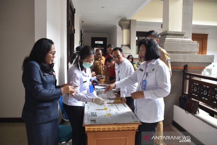 BNN uji urine puluhan ASN Pemkab Badung