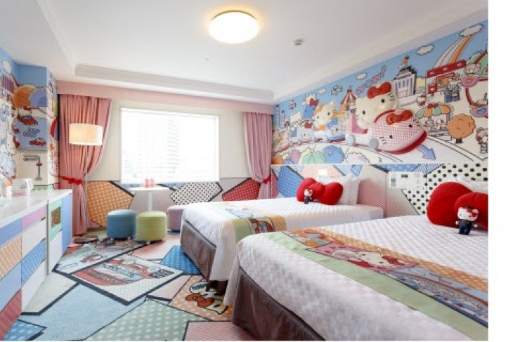 """Keio Plaza Hotel Tama commemorates the 5th anniversary of """"Hello Kitty Room"""" - special presents for guests staying in our Sanrio character rooms, special promotional videos launched"""