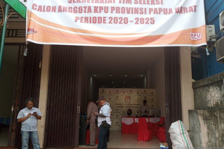 Pendaftatan calon anggota KPU Papua Barat dibuka Jumat