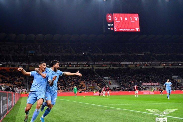 Liga Italia, Lazio akhiri puasa kemenangan 30 tahun di kandang Milan