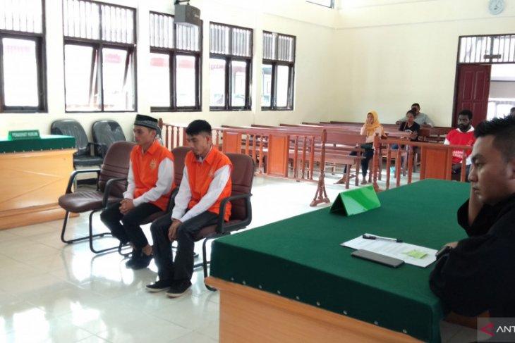 Dua pria pemilik sabu-sabu divonis 5 tahun 6 bulan penjara