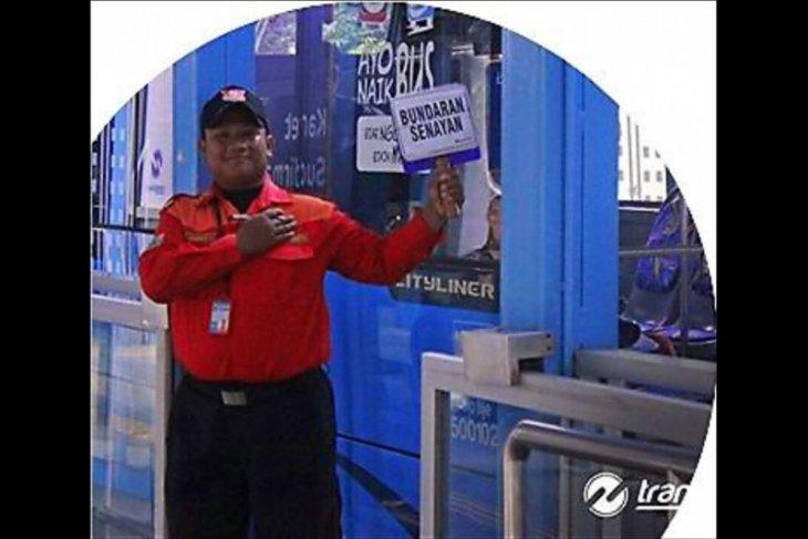 Layanan baru wayfinding Transjakarta  di koridor 1 Blok M-Kota diuji coba