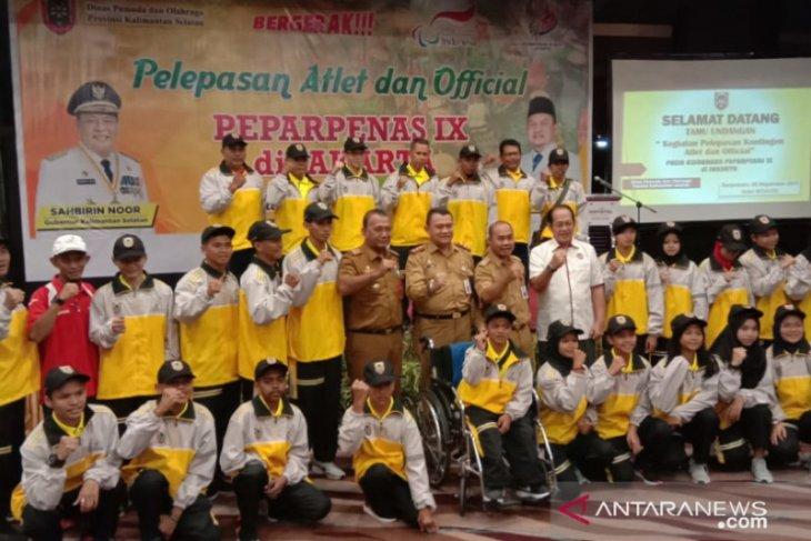20 atlet Kalsel ikuti Paperpenas di Jakarta