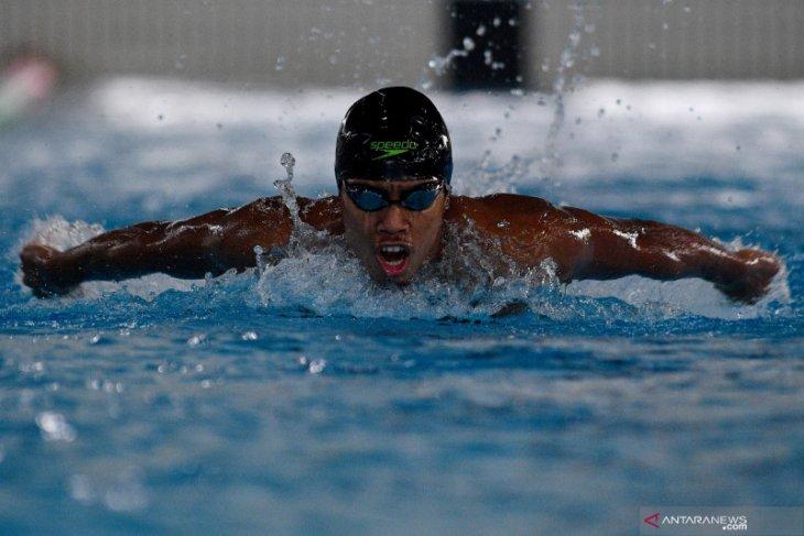 Medali renang perairan lepas dari tangan Indonesia