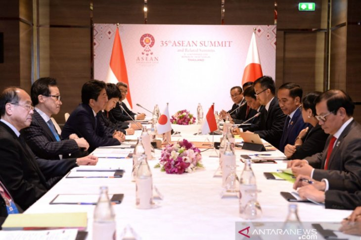 Japan fully supports President Jokowi's priority programs