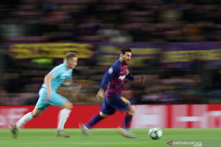 Liga Champions, Barcelona ditahan imbang 0-0 kontra Slavia Praha