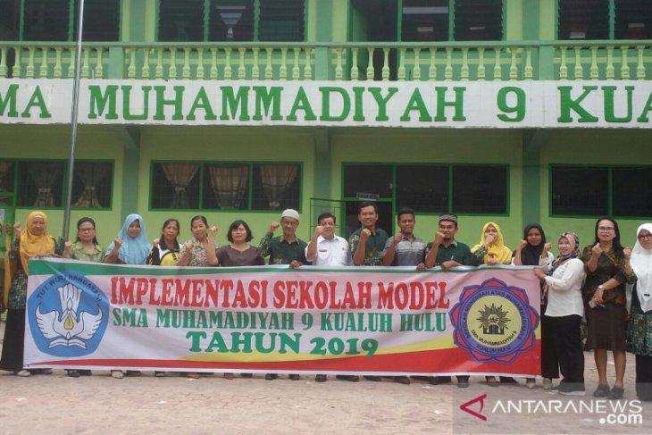 SMA Muhammadiyah 9 Kualuhhulu kembali jadi Sekolah Model di Labura
