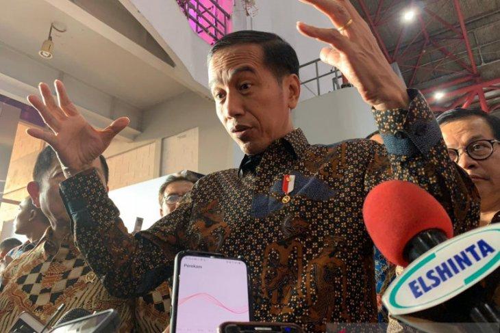 Presiden Jokowi: calon dewas KPK masih dalam penggodokan