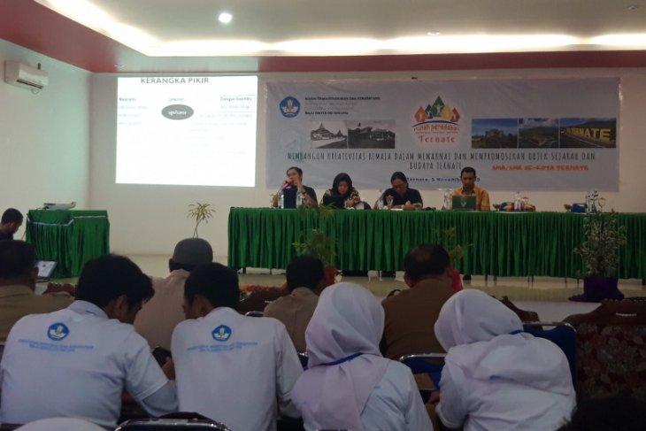 Balai Arkeologi Maluku gagas kreatifitas remaja Ternate