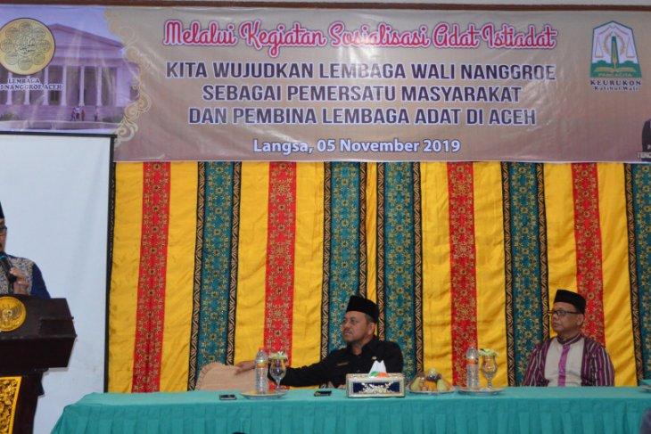 Pemkot Langsa: Adat istiadat di Aceh tidak cuma atur seni budaya