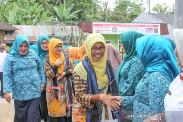 PKK Sumut kunjungi dan evaluasi Padangsidimpuan