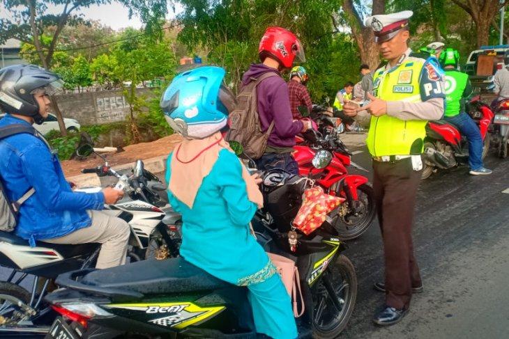 14 hari Operasi Zebra Kalimaya 2019 ,  Polda Banten tindak 20.701 pelanggar lalu lintas